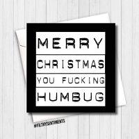 Humbug card XMAS10 - R0048
