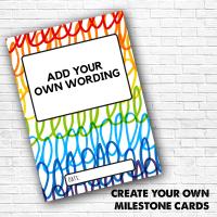 Create Your Own Milestone Card Packs