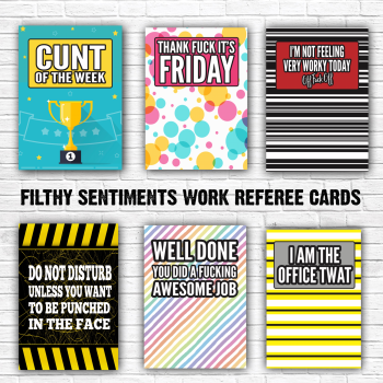 Work Referee Cards - E0025