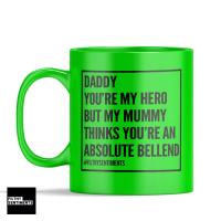 DADDY HERO MUG
