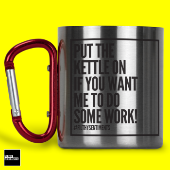 DO WORK STAINLESS STEEL MUG - 186