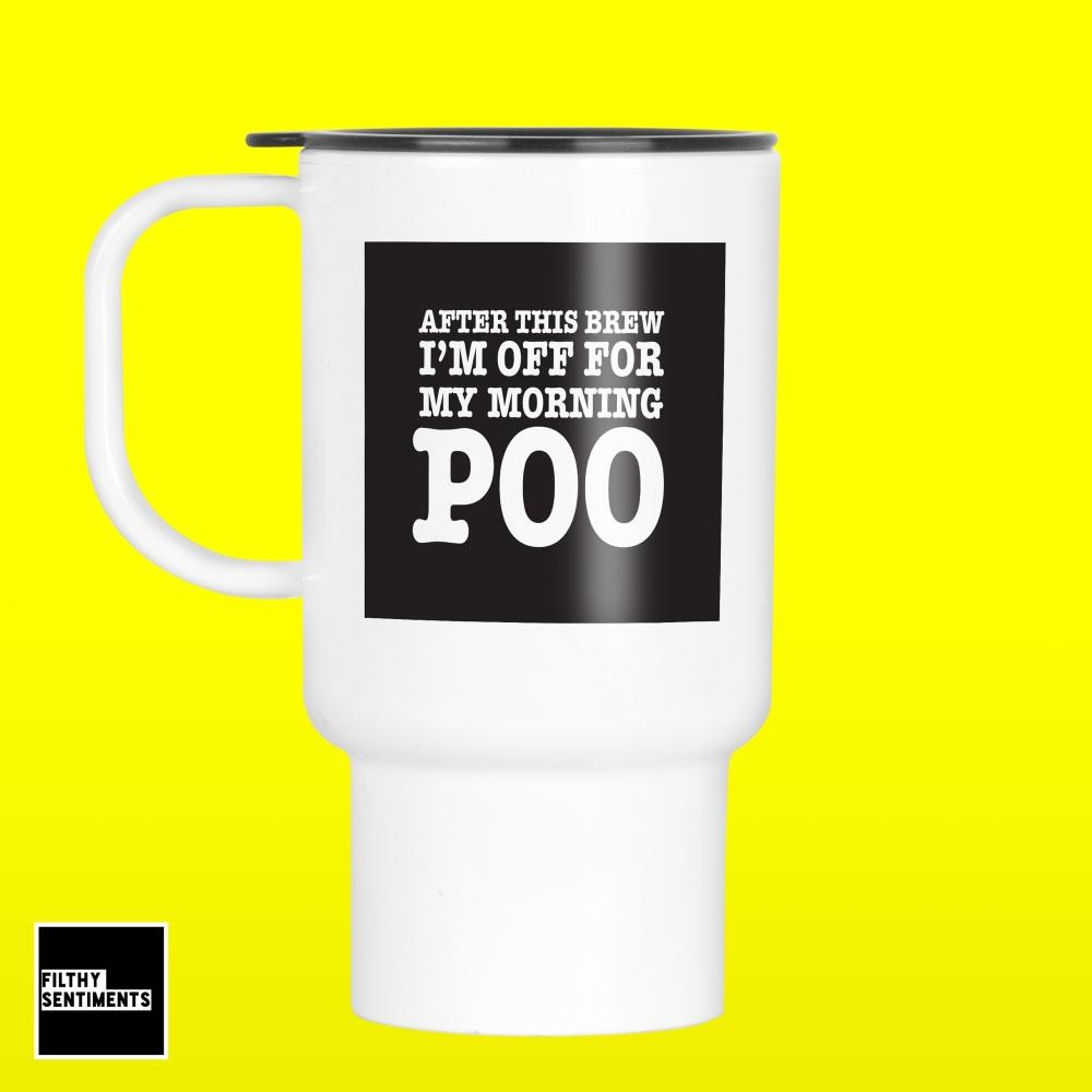 Poo Brew Travel Mug