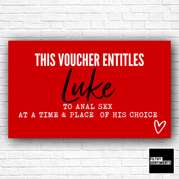 LOVE HEART VOUCHER FOR HIM