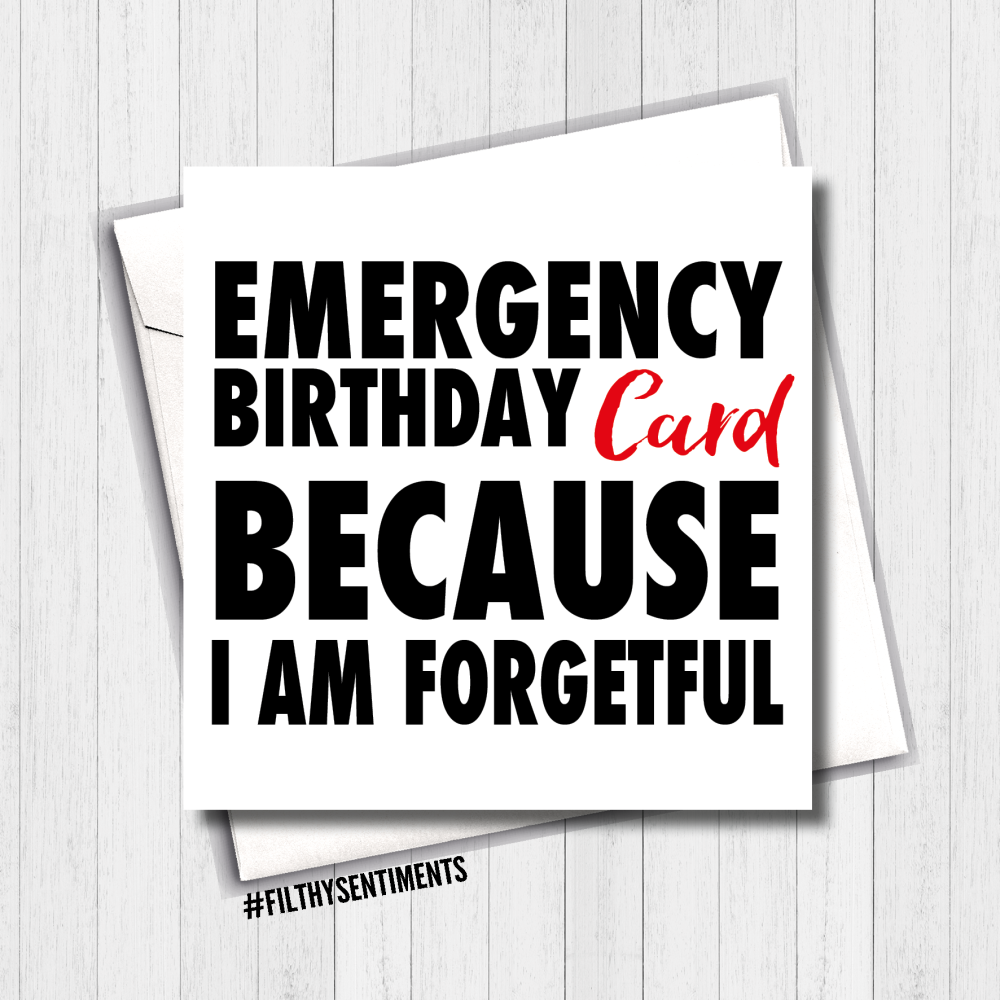 Emergency Card - FS398