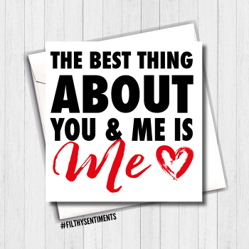 You & Me Card - FS401/ G0016