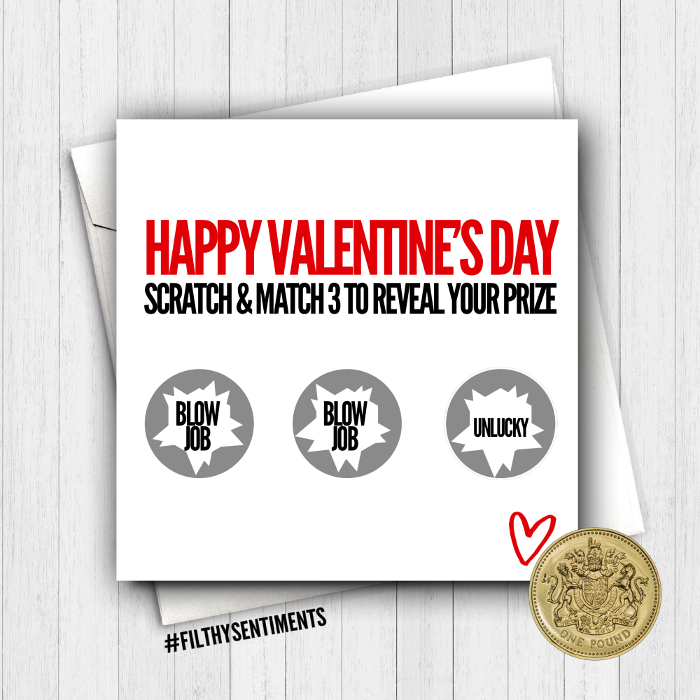 2019 Valentine's Scratch card