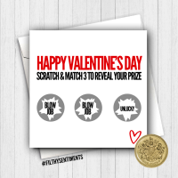 Valentine's Scratch card fs409