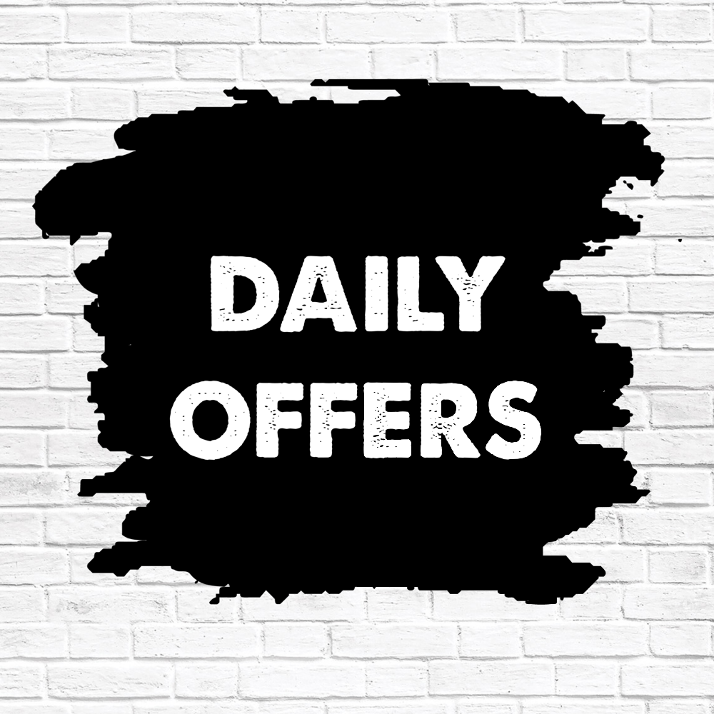 DAILY OFFERS!