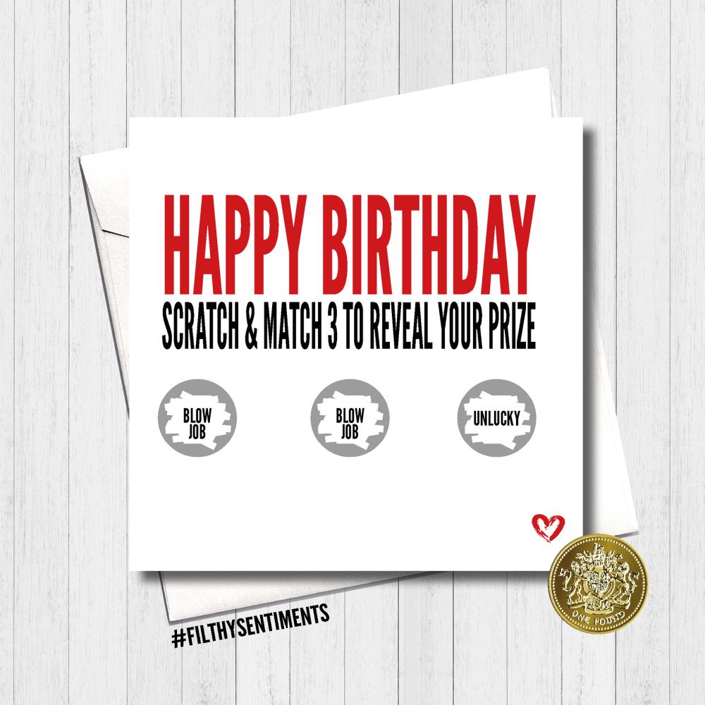 2019 Birthday Scratch Card -  FS431
