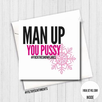 Man Up Pussy Luisa Card - FS452