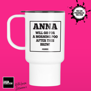 AFTER THIS POO TRAVEL MUG BY LUISA