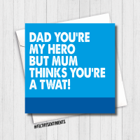Dad, Twat Card - FS456