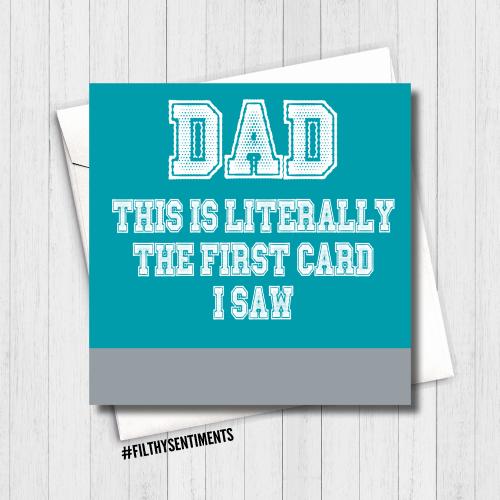 Dad, first card I saw - FS459