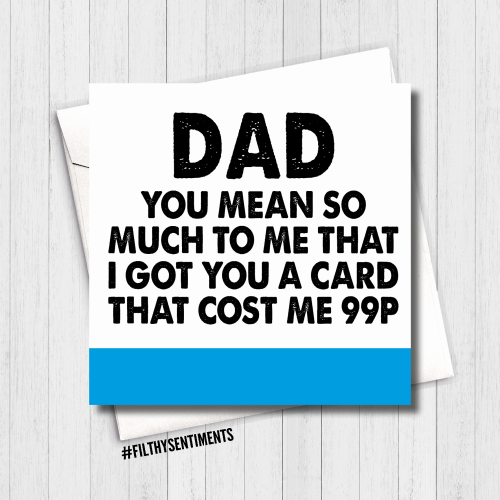 Dad, you're worth 99p - FS463