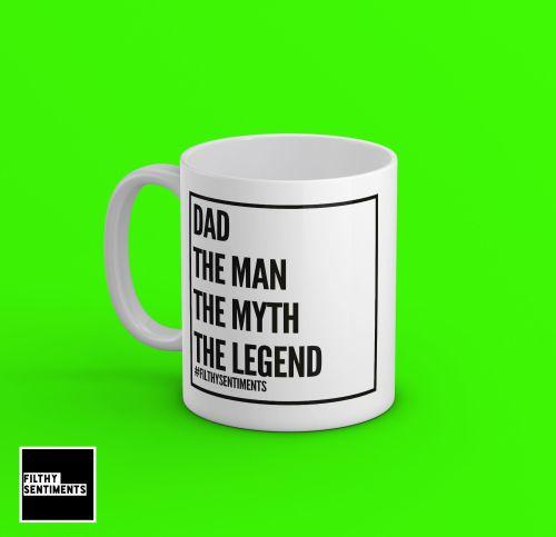 *NEW* PERSONALISED MAN MYTH LEGEND - 140