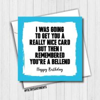 Bellend Birthday Card - FS467/ G0054