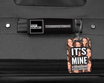IT'S MINE LUGGAGE TAG - 007
