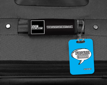 IF LOST CALL PERSONALISED LUGGAGE TAG - 005