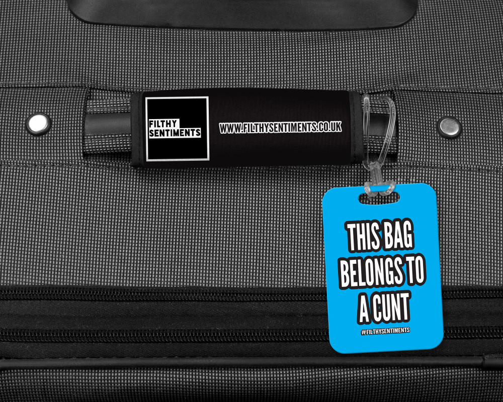 THIS CASE BELONGS TO A LUGGAGE TAG - 001