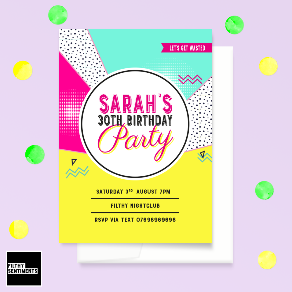 PARTY INVITES & THANK YOU CARDS