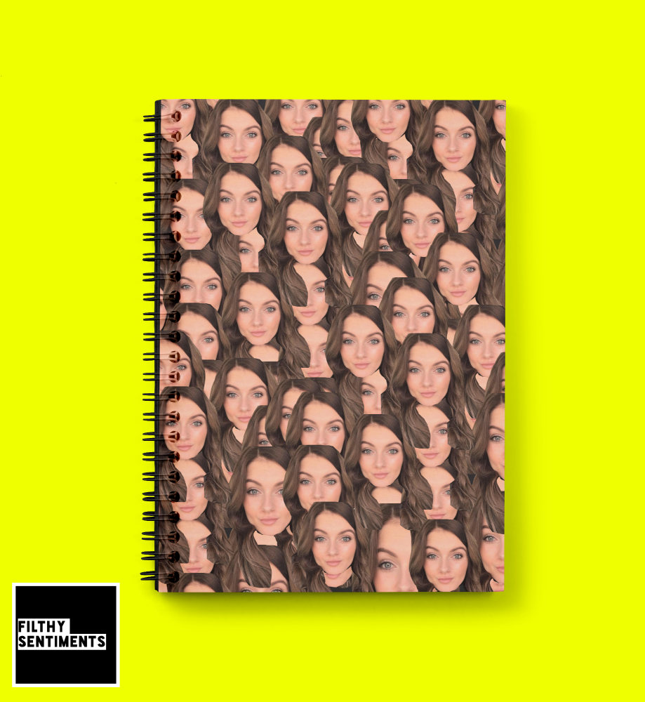 PERSONALISED FACE NOTEBOOK