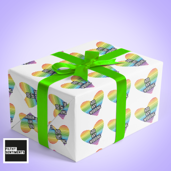 ADD ANY WORDING WRAPPING PAPER - W002