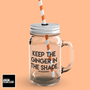 GINGERSHADE MASON JAR GLASS
