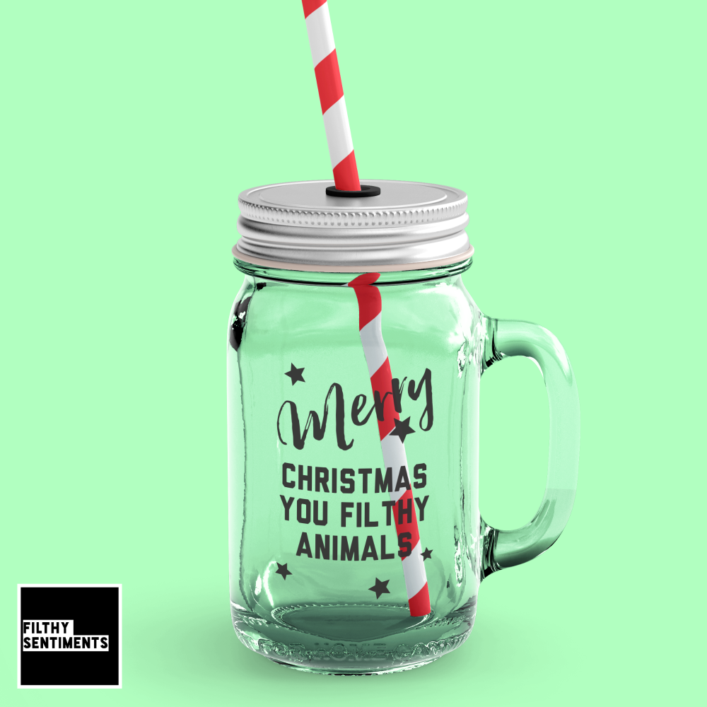 *NEW* FILTHY ANIMAL MASON JAR