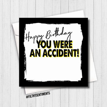 ACCIDENT CARD - FS497 / B0077