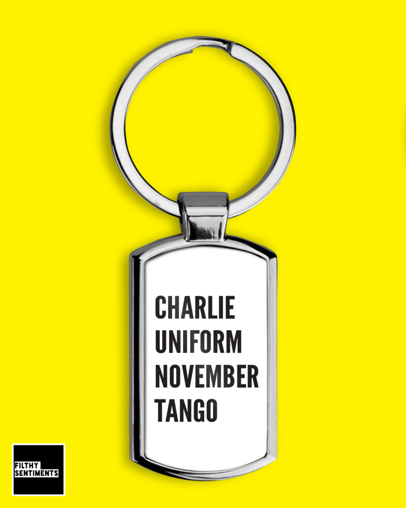 *NEW* CHARLIE KEYRING - F0066