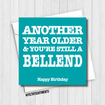 ANOTHER YEAR BELLEND CARD - FS612