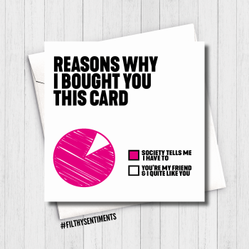 REASONS WHY PINK CARD - FS615