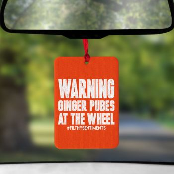 Air Freshener - Ginger Pubes at the wheel - AIR0012