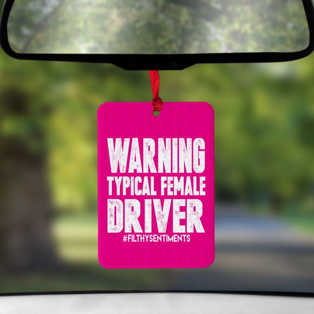 Air Freshener - Female Driver - AIR0013