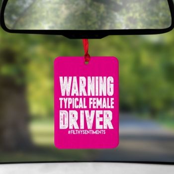 Air Freshener - Female Driver - AIR0013