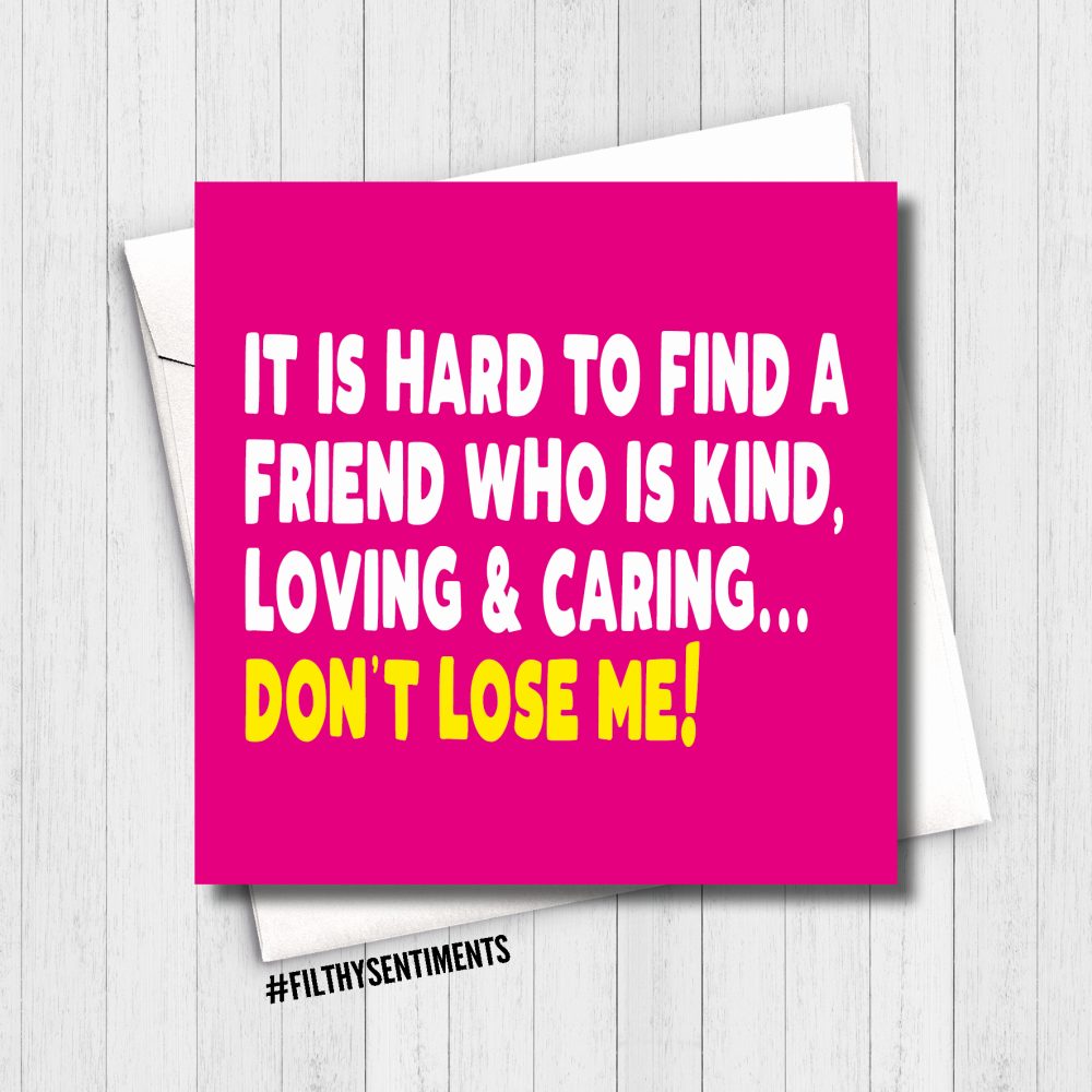 LOSE ME CARD - FS626