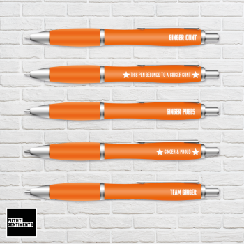 GINGER PEN SET- B0021