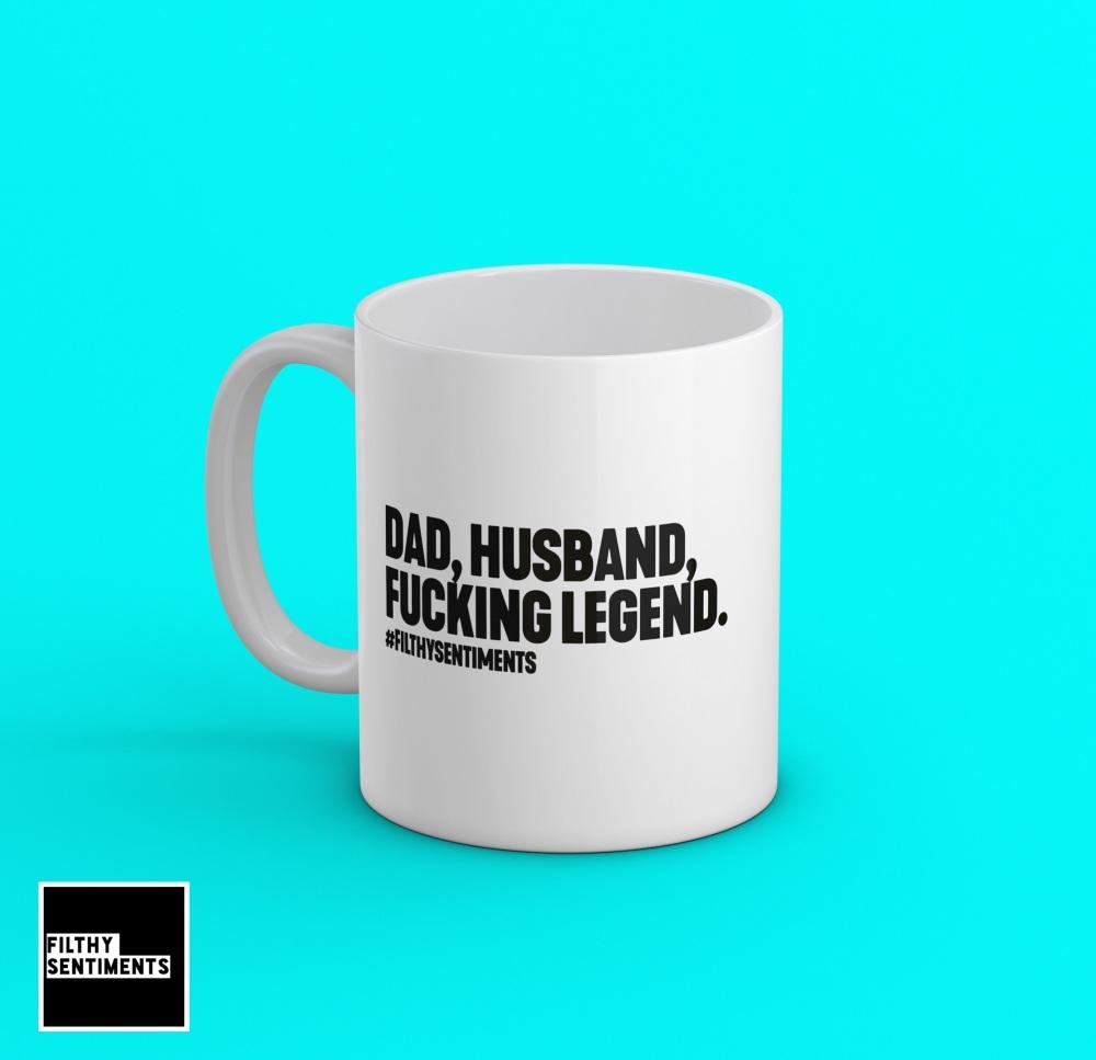 Dad, Husband, Legend Mug - 197