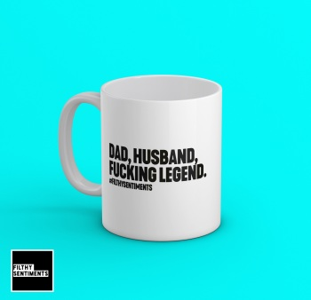 Dad, Husband, Legend Mug - 197