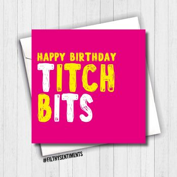 TITCH BITS CARD - FS637