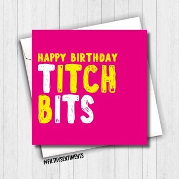 TITCH BITS CARD - FS637/K11