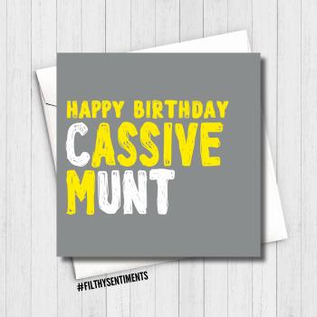 CASSIVE MUNT CARD - FS639/ B0074