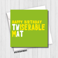 MISERABLE TWAT CARD - FS644/ G0005