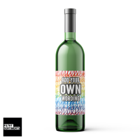CREATE YOUR OWN WINE BOTTLE LABEL - WBL003