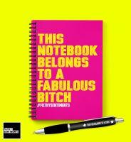 FABULOUS BITCH NOTEBOOK - N020 / D0022