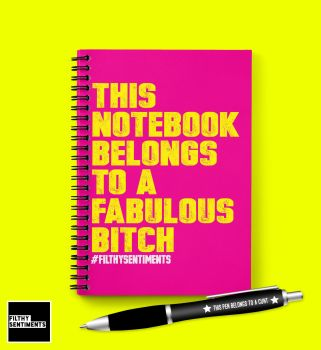 FABULOUS BITCH NOTEBOOK - N020 / D0022