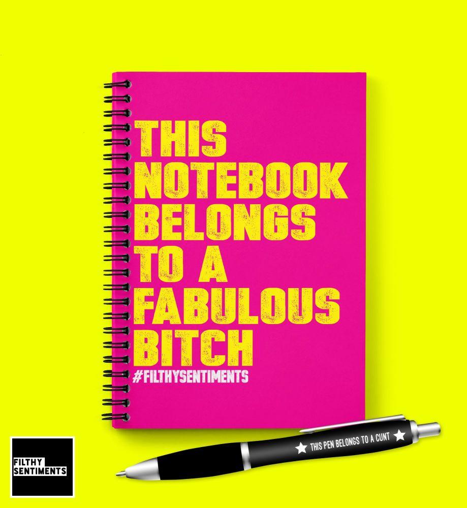 FABULOUS BITCH NOTEBOOK - N020