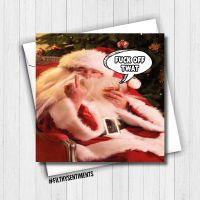 BAD SANTA CHRISTMAS CARD - FS663