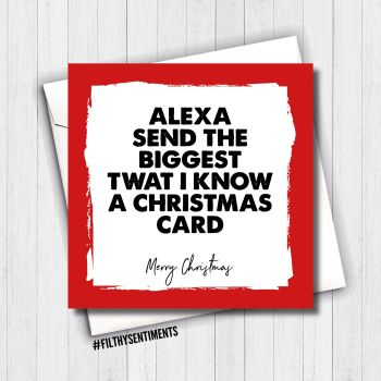 ALEXA CHRISTMAS CARD - FS666