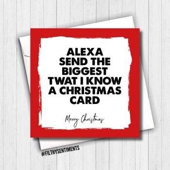 ALEXA CHRISTMAS CARD - FS666